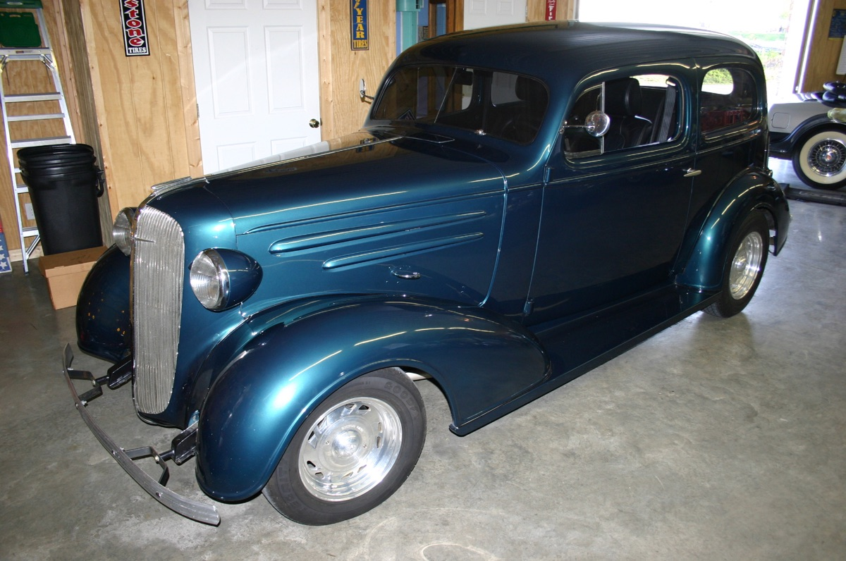 1936 chevrolet 2 door sedan tennessee classic automotive. Black Bedroom Furniture Sets. Home Design Ideas