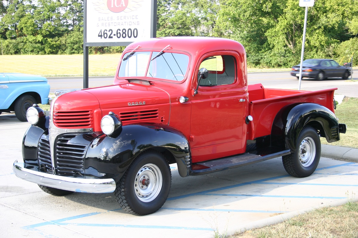 1947 dodge half ton pickup tennessee classic automotive. Black Bedroom Furniture Sets. Home Design Ideas